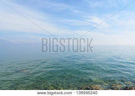 Landscape Of Garda Lake