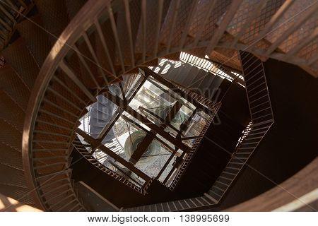 Interior Of Torre Dei Lamberti
