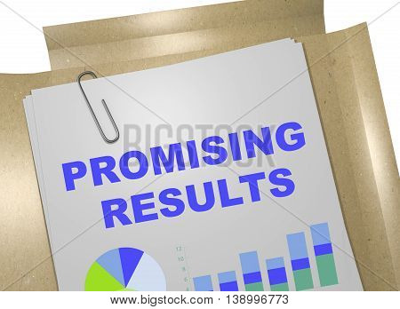 Promising Results Concept