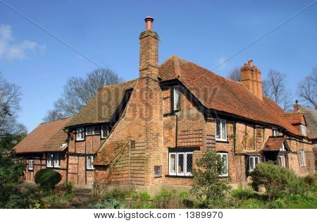 Brick And Timber House