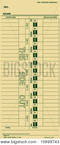 Timecard Employee