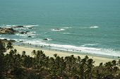 Постер, плакат: Пляж на берегу Индийского океана