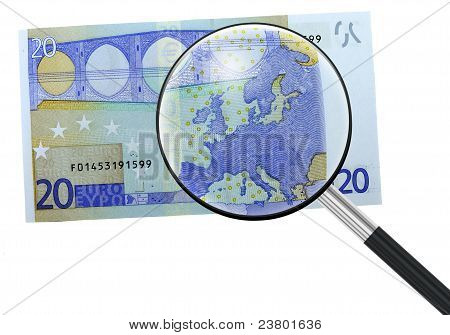 Euro, Europe Under Magnifying Glass
