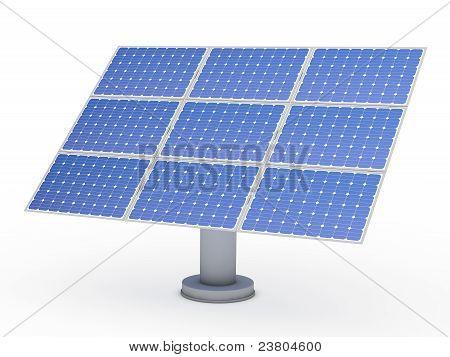 3D Solar Blue Energy Photovoltaic