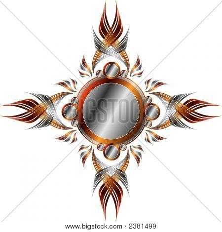 Symmetrical Metallic Frame (Replacing: 1918742)