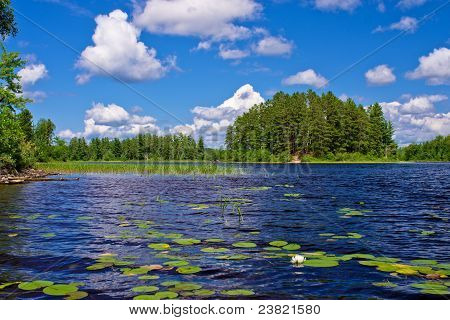 Newton Lake, Bwcaw, Minnesota