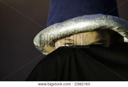 Boy Peeking