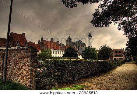 Kortrijk Town In Belgium