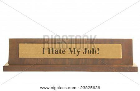 Job hate