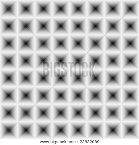 High Resolution Seamless Concave Pyramidal Texture