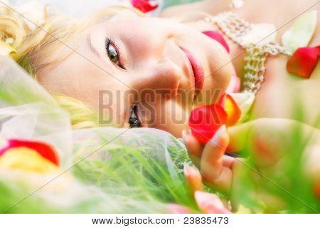 A Look Of The Happy Bride