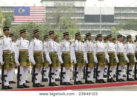Pahang, Malaysia - Sept 16  2011 : 54th Anniversary Of Independence And 1 Malaysia Day.