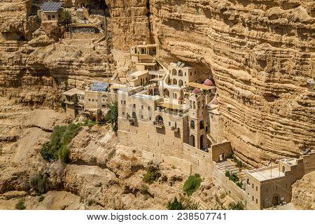 The Wadi Qelt Or Nahal