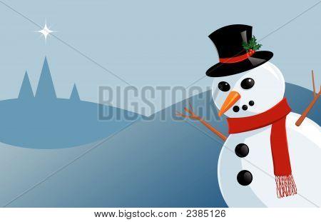 Plastic Snowman.Eps