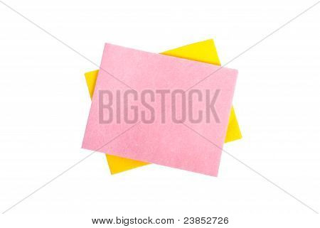 Two Cleaning Napkins
