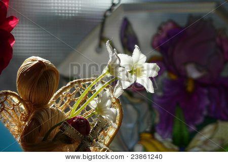 angel flowers objects