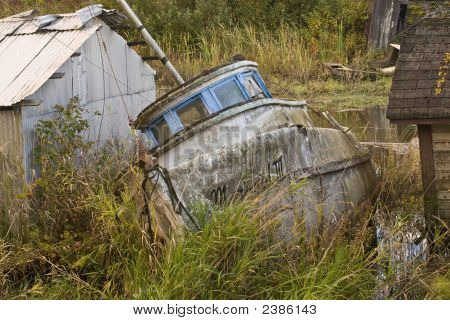 Old Abandoned Boat