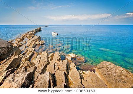 Calm Sea In Trapani