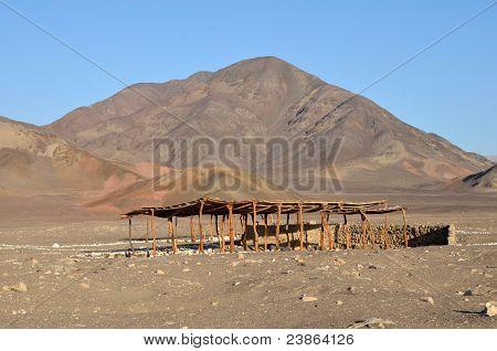 Chauchilla Cemetery Tomb - Nazca Peru