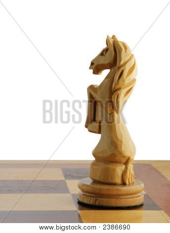 Isolated Chess Horse