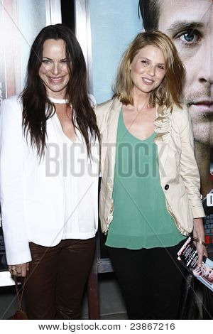 LOS ANGELES - SEPT 27:  Megan Ward (Right) arriving at  the