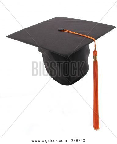 Graduation Cap And Tassel