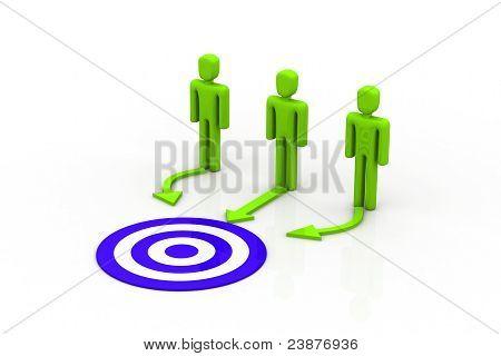 Target people