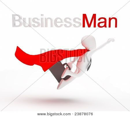 Business Men Superhero