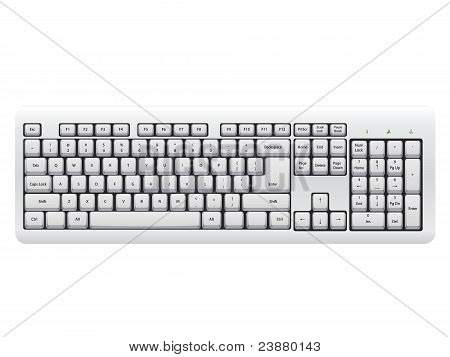 White Keyboard