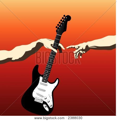 Creation Of Adam Guitar2.Eps