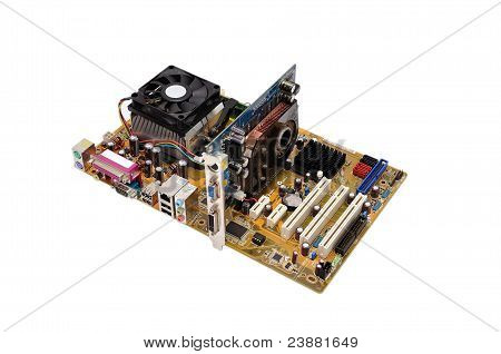 motherboard and videocard