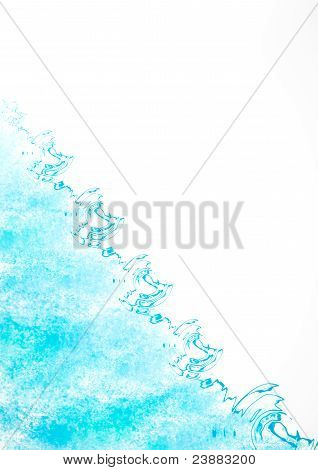 Abstract Blue Sea
