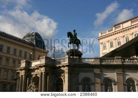 Albertina Art Gallery In Wien