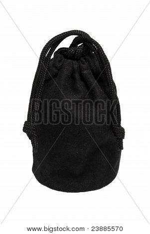 The Black Fastened Bag