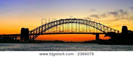 Sydney Harbour Bridge..