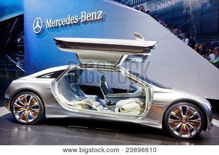 Mercedes-benz F125 Concept Car