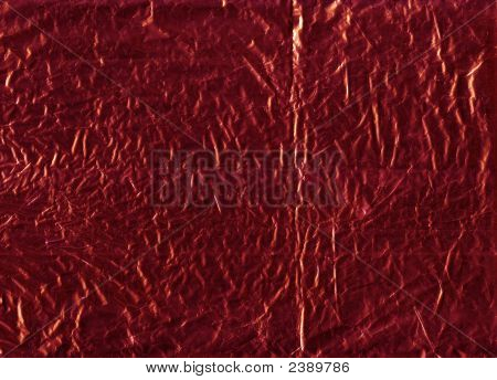 Red Wrapping Foil