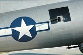 image of b17  - B 17 Flying Fortress Bomber taken at Charleston airport SC  - JPG