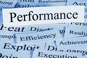 Performance - A Conceptual Look At Performance, Efficiency, Achievement poster