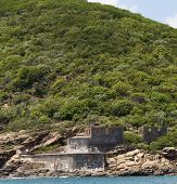 Historical War Fort on Mountain - St Thomas Island