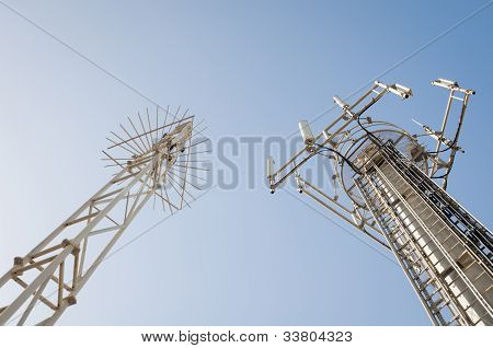 Two Antennas