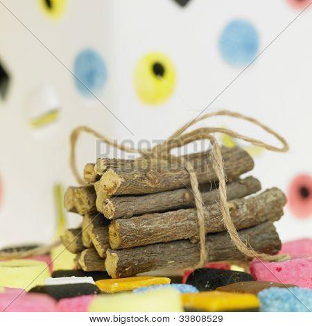 liquorice and liquorice root