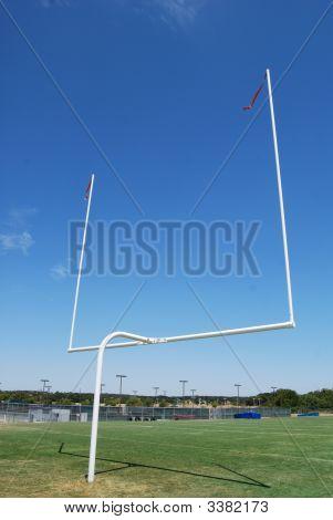 White Goal Post