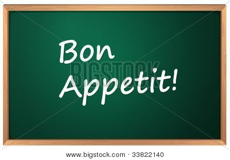Illustration of a Bon Appetite sign - EPS VECTOR format also available in my portfolio.