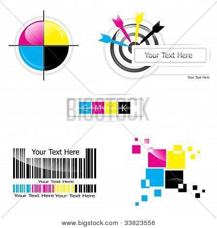 CMYK-Design-set