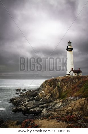 Coastal Lighthouse