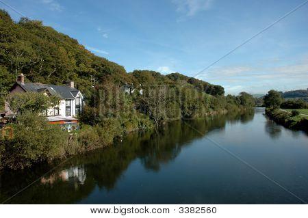 River Dovey Near Machynlleth