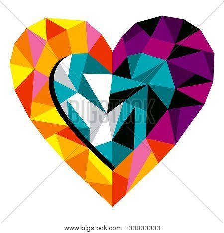 Origami Love Heart