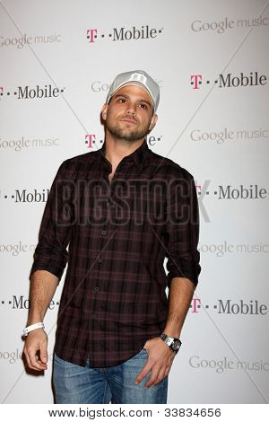 LOS ANGELES - NOV 16:  Jerry Ferrara arrives at the Google Music Launch at Mr. Brainwash Studio on November 16, 2011 in Los Angeles, CA