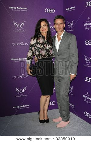 LOS ANGELES - 9 de junho: Balthazar Getty, esposa Rosetta no XI anual crisálida Butterfly Ball realizada